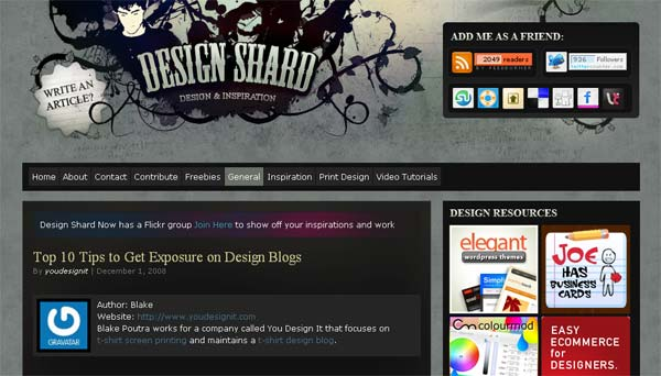 10 Tips to Get Design Blog Exposure